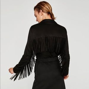 Zara Fringed Shirt